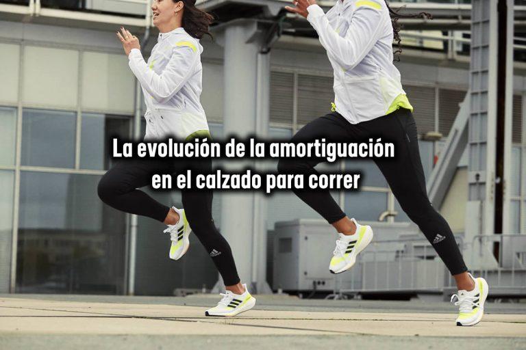 La evolución de la amortiguación en el calzado para correr