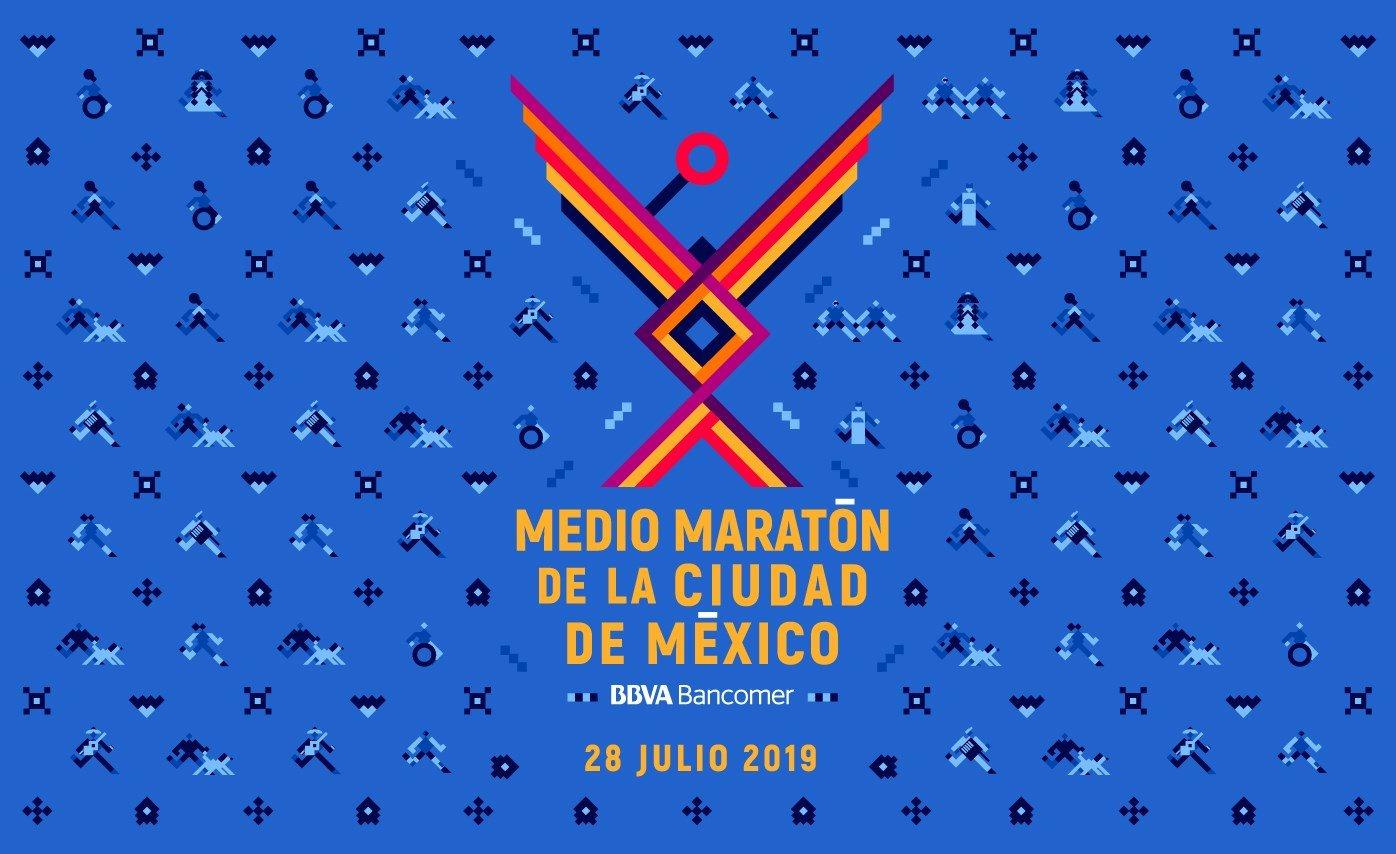 Medio maraton ciudad de mexico 2019