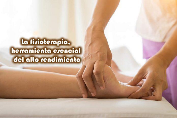 La fisioterapia, herramienta esencial del alto rendimiento
