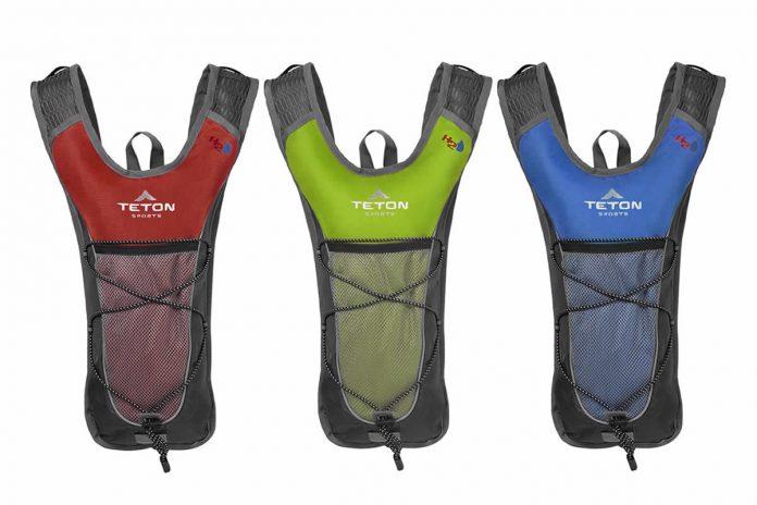 mochila de hidratación