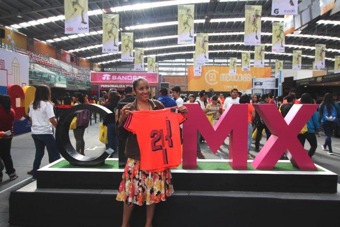 entrega de kits 21k medio maraton banorte cdmx ciudad de mexico