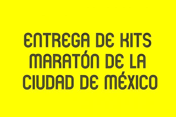 ENTREGA, KITS, PAQUETES, MARATON, CDMX, CIUDAD DE MEXICO