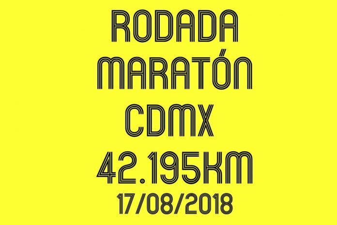 rodada maraton ciudad de mexico 2018