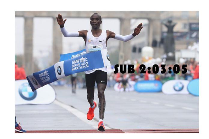 Eliud Kipchoge maraton Berlin 2018