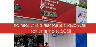 mo farah maraton de chicago 2018