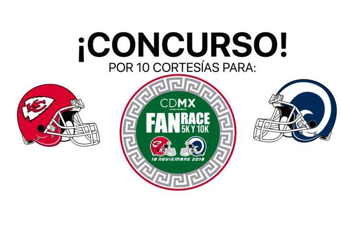 Concurso carrera NFL Fan Race