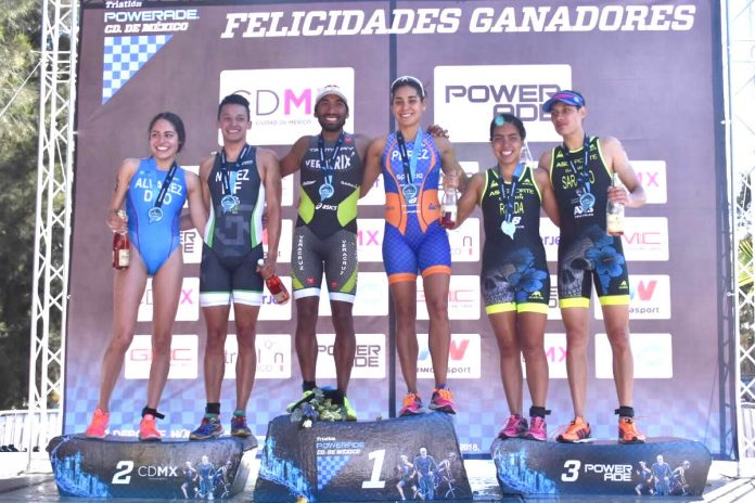 grajales y perez triatlon powerade mexico 2018
