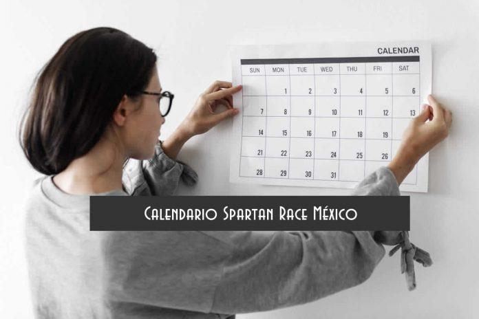 Calendario Spartan Race México