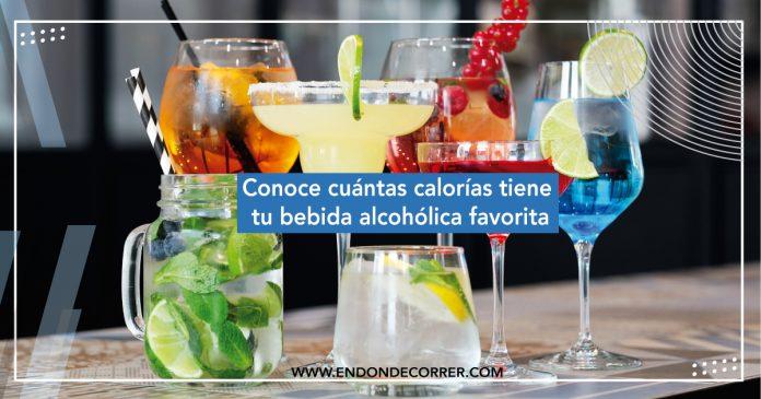 Conoce cuántas calorías tiene tu bebida alcohólica favorita