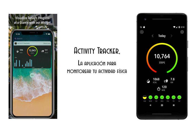 Activity Tracker, la aplicación para monitorear tu actividad física