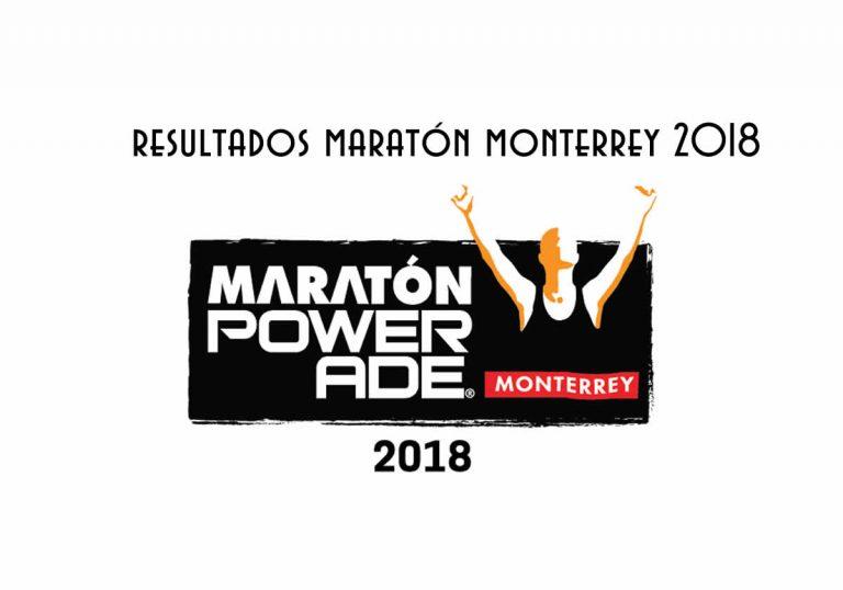 Resultados maratón monterrey 2018