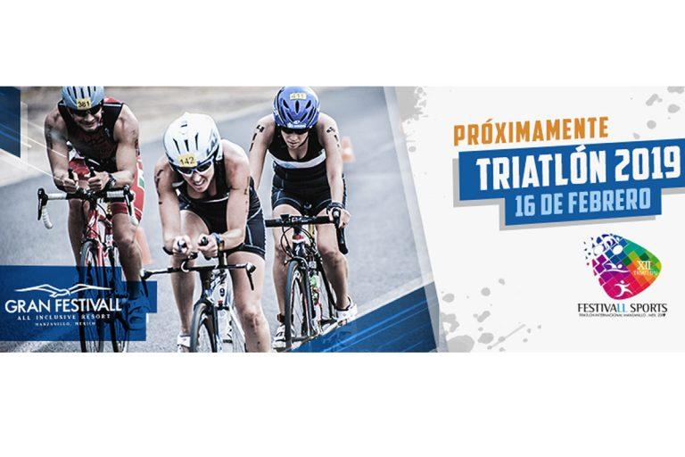 Triatlón de Manzanillo 2019, con distancias Sprint, Olímpica, Elites y Relevos.