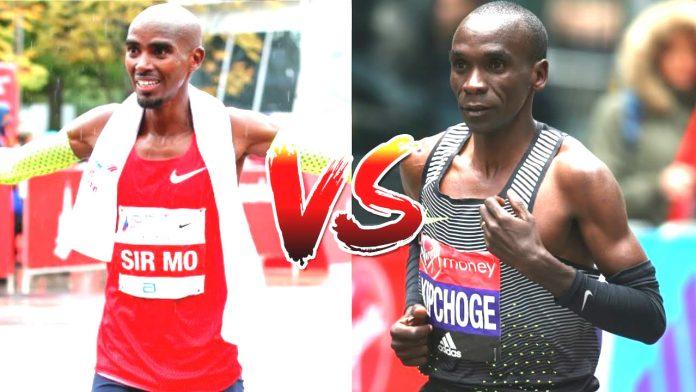 Eliud Kipchoge vs Mo Farah