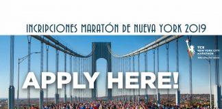 inscripciones al Maratón de Nueva york 2019