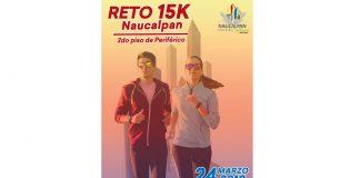 Carrera RETO 15K NAUCALPAN