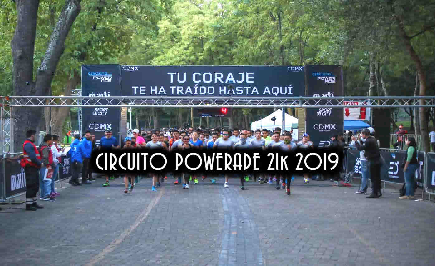 Carrera circuito Powerade 21k 2019