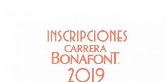 Inscripciones Carrera Bonafont 2019