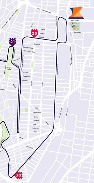 5 ruta maratón de la ciudad de México hasta kilómetro 5