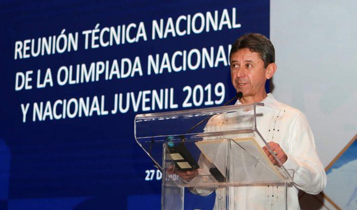 OLIMPIADA NACIONAL Y NACIONAL JUVENIL
