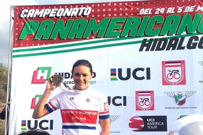 Ariadna Gutiérrez gana oro en Panamericano de Ciclismo de Ruta