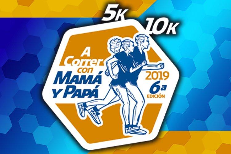 CARRERA A CORRER CON MAMÁ Y PAPÁ 2019