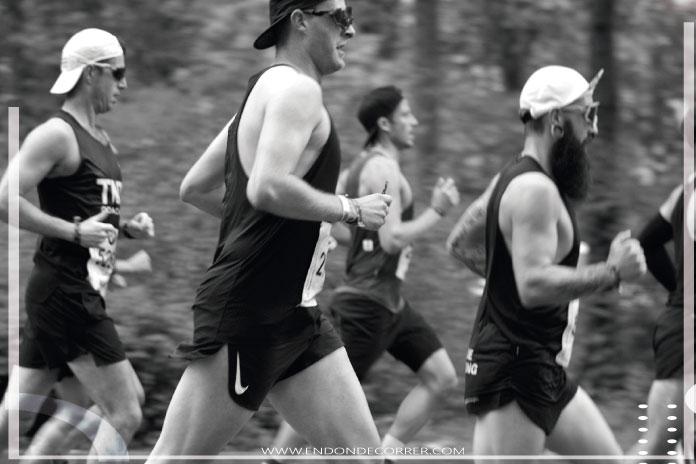 El control de la respiración y obtener un ritmo de competencia propio