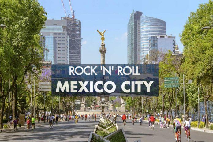 MEDIO MARATÓN ROCK 'N' ROLL CIUDAD DE MÉXICO