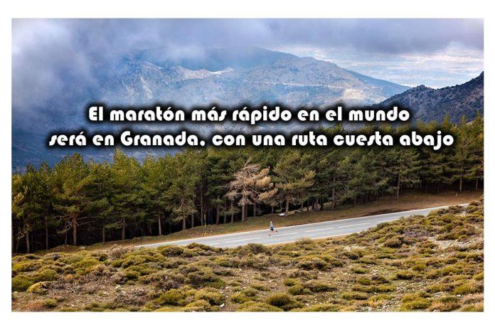 El maratón más rápido en el mundo será en Granada, con una ruta cuesta abajo