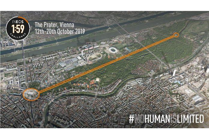 Será en Viena donde Eliud Kipchoge realizará el reto INEOS 159