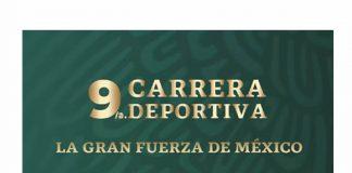 """Fechas de inscripción para 9/a. Carrera Deportiva """"La Gran Fuerza de México"""""""