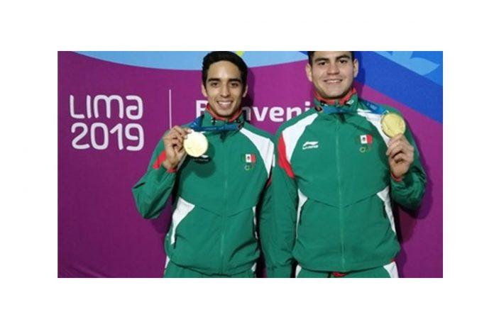 Duilio Carrillo y José Silva le dieron a México el onceavo metal dorado en Lima 2019