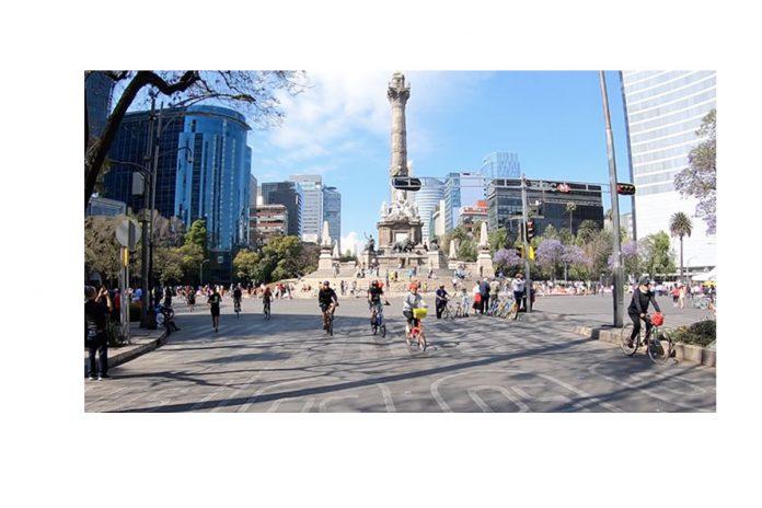Más de 85 mil personas salen a rodar en el Ciclotón de la Ciudad de México