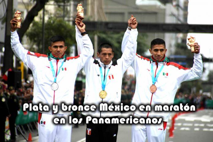 Plata y bronce para México en maratón los Juegos Panamericanos Lima 2019
