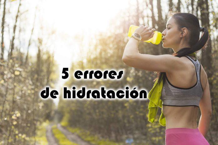 5 errores de hidratación que no debes cometer el día de la carrera