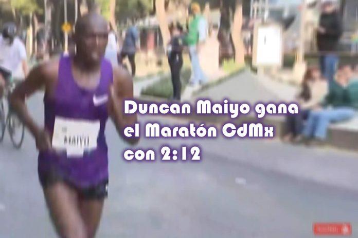 Duncan Maiyo gana el Maratón de la Ciudad de México con 212
