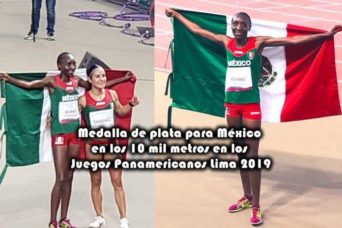 Medalla de plata para México en los 10 mil metros en los Juegos Panamericanos Lima 2019
