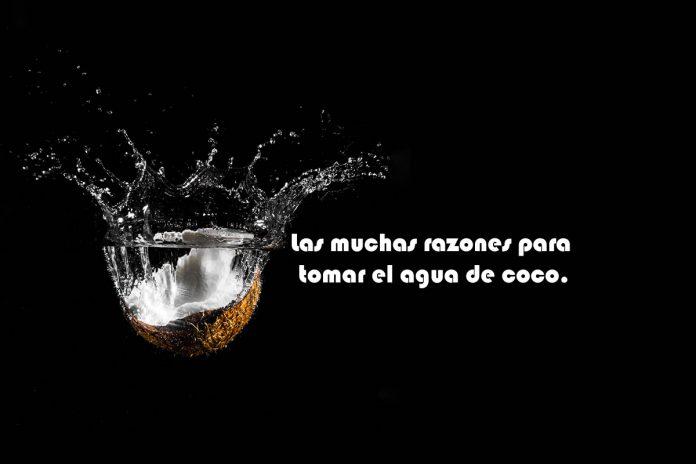 Las muchas razones para tomar el agua de coco.