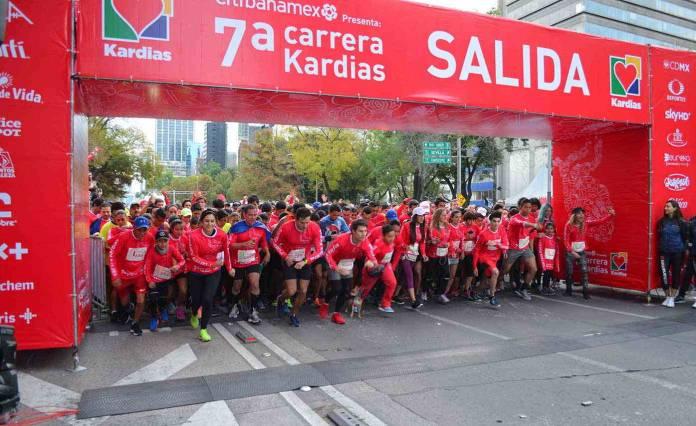 Corre con causa en la carrera Kardias 2020