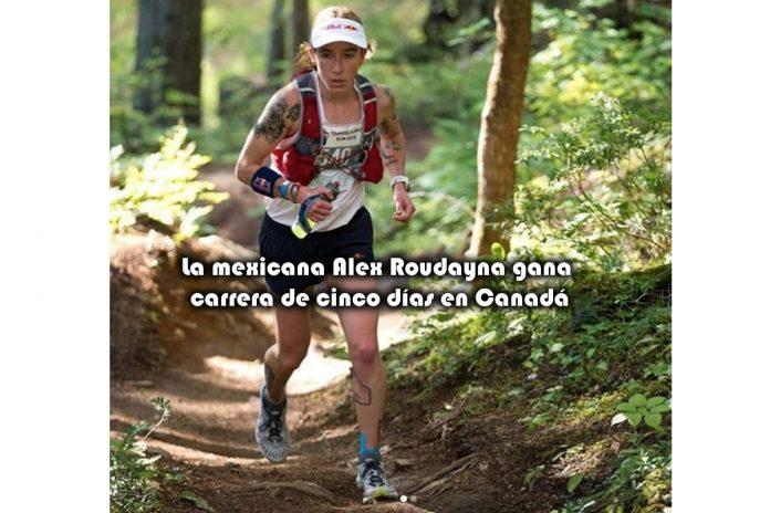 La mexicana Alex Roudayna gana carrera de cinco días en Canadá