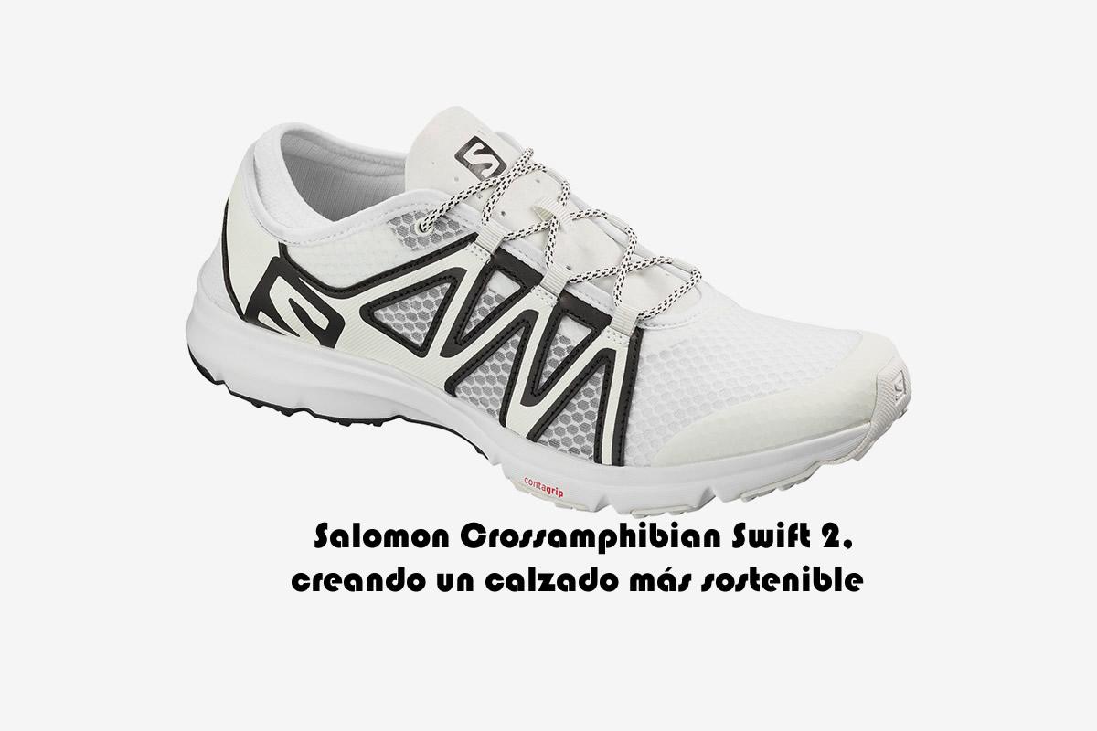 zapatillas mujer salomon - crossamphibian swift letra en espa�ol