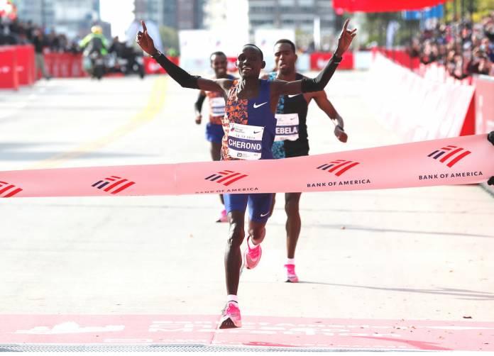 Lawrence Cherono gana el Maratón de Chicago con 20546
