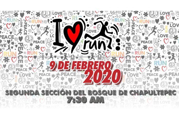 Celebra el día del amor y la amistad en I LOVE RUN 2020