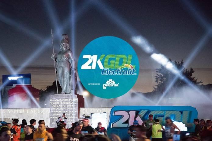 Corre en el Mejor Medio Maratón de México el 21k Gdl Electrolit 2020 nutrido por Granvita