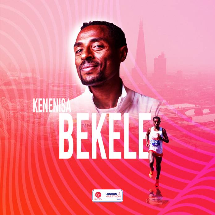Kenenisa Bekele Vs Eliud Kipchoge en el maratón de Londres 2020
