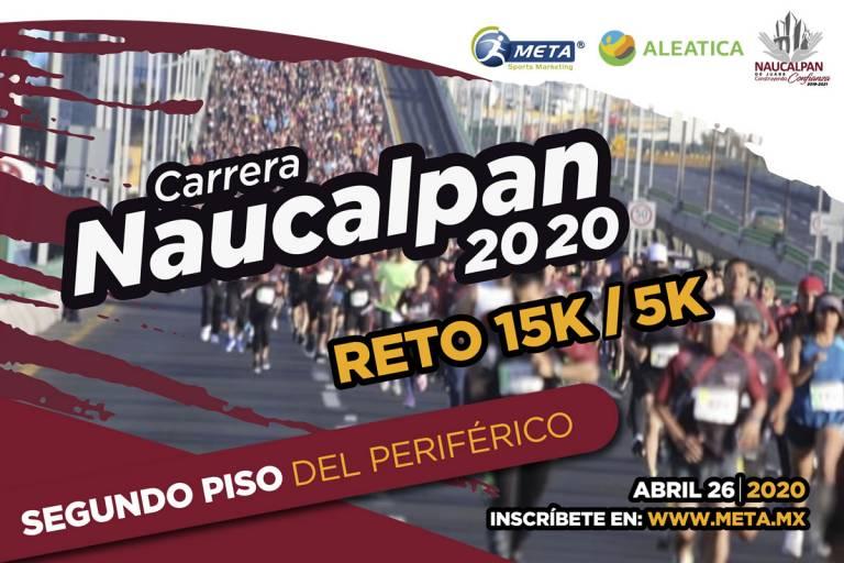Reto 15k Naucalpan, acepta el reto de correr en el segundo piso de Périferico