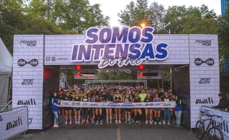 21k Somos Intensas, el medio maratón para todas las corredoras