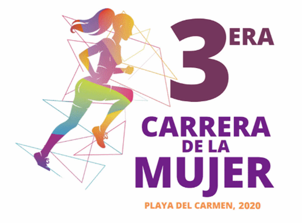 Carrera de la Mujer Playa del Carmen 2020
