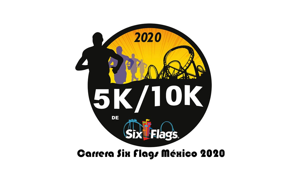 carrera Six Flags México 2020