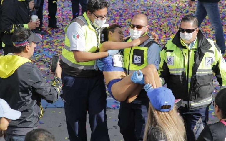 Madaí Pérez (40 años) gana el Maratón Lala 2020 con un tiempo de  2:31:51