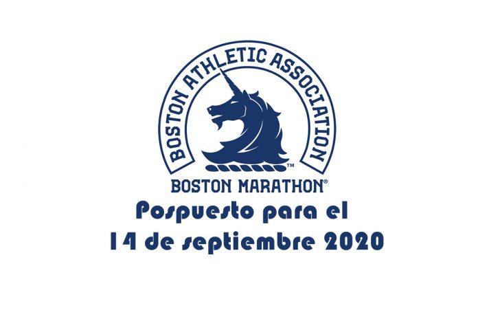 Maratón de Boston pospuesto para el 14 de septiembre